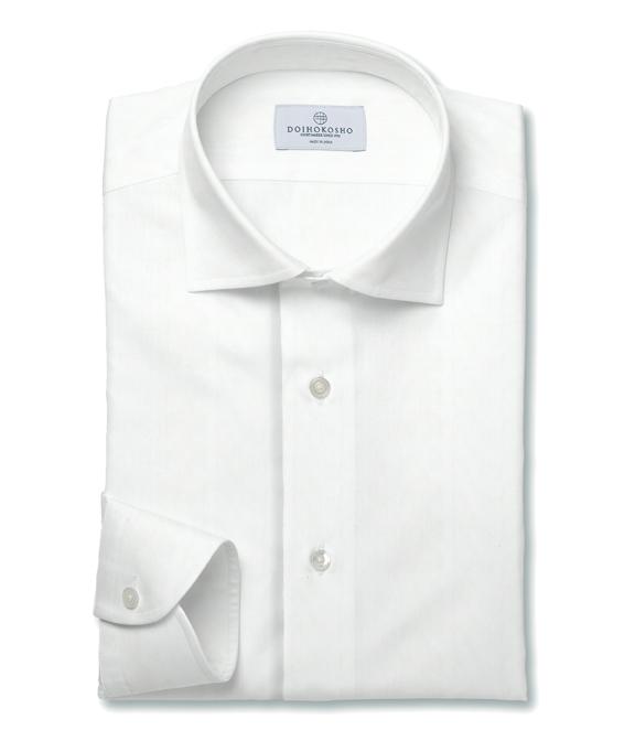 土井縫工所(どいほうこうじょ)のおすすめワイシャツはホリゾンタルワイドカラーシャツ